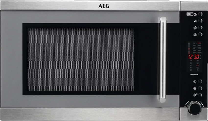 c610df4e1ed Photos 1  Aeg MFC3026S-M Microwave ventilated oven with grill cm 51 h 30