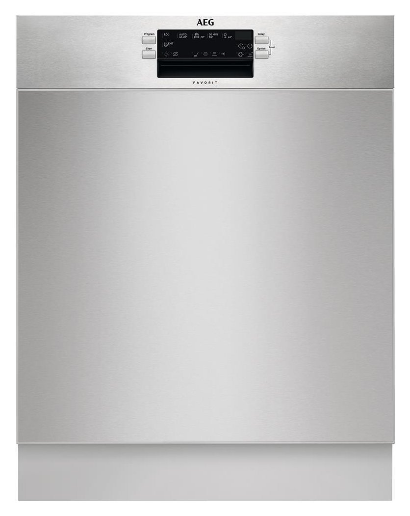 Photos 1: Aeg Partial integrated dishwasher cm. 60 - 13 covered FUE52600PM