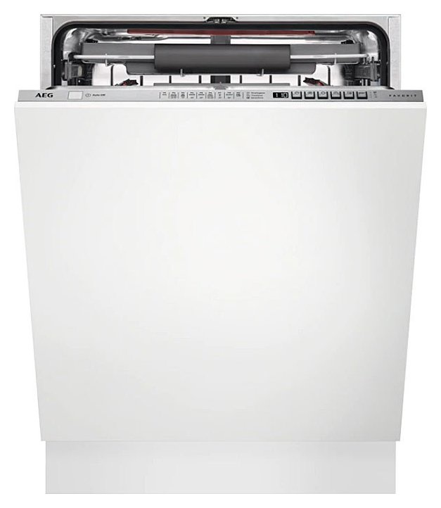 Photos 1: Aeg Integrated dishwasher total cm. 60 to 15 covered FSE63716P
