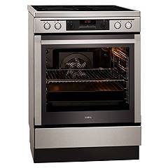 Aeg 68476vs-mn Stove kitchen cm. 60 - inox - induction with 4 cooking zones + 1 electric oven 940 002 036