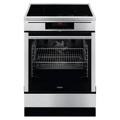 Aeg 69476iumn Stove kitchen cm. 60 - inox - induction with 4 cooking zones + 1 electric oven 940 002 040