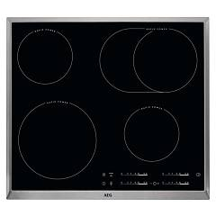 Aeg Hk654850xb Electric hob cm. 60 - black stainless steel frame glass ceramic 949 597 107