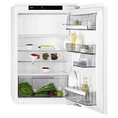 Aeg Sfs8882xaf Refrigerator with freezer compartment - fixed recessed door h 88 cm - white 933 020 563