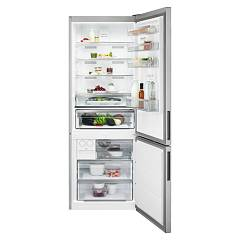 Aeg Rcb65121tx Nofrost double door refrigerator / freezer - stainless steel cm. 70 h 192 - 437 liters 925 993 240