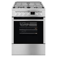 Aeg 47686gtmn Approach kitchen 60 cm 4-burner hob + 1 electric oven - stainless steel