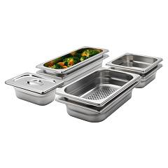 Aeg A9ozs10 Set of 8 baking trays for steam cooker - stainless steel