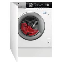 Aeg L8wbe68si Built-in washer dryer cm. 60 - washing 8 kg - drying 4 kg - white