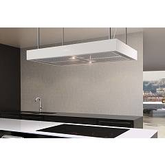 Airforce Ccf161a9026 Island hood 90 cm - stainless steel / white Axial