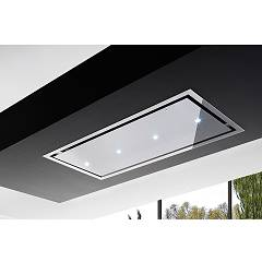 Airone Otello Inox Tr Led Ceiling hood cm. 90 - inox - without engine