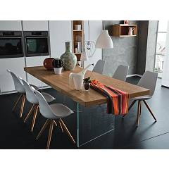 Alta Corte Eco Lab Nizza Lb-ta7663 Fixed table l. 200 x 100