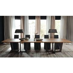 Alta Corte Eco Lab Parigi Lb-ta7928 Fixed table l. 400 x 100