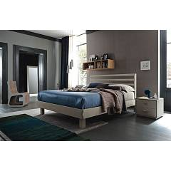 Alta Corte Eco Lab Wall Lb-zn7241 Double bed cm. 186 x 216 with mounts and giroletto