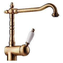 Apell Ap091tt Kitchen mixer - brass