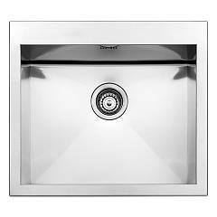 Apell Sq50isc Sink 1 bowl cm. 57x50 - satin stainless steel Amalthea