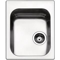 Apell To42ibc Sink 1 bowl cm. 42x50 - brushed stainless steel Torino