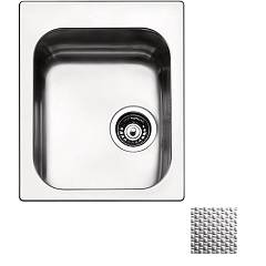 Apell To42iac Sink 1 bowl cm. 42x50 - scratch-resistant stainless steel Torino