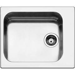 Apell To58ibc Sink 1 bowl cm. 58x50 - brushed stainless steel Torino