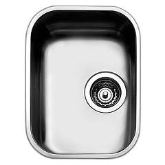 Apell Fe300ubc Sink 1 bowl cm. 32x42 - brushed stainless steel Ferrara