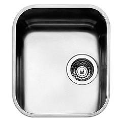 Apell Fe340ubc Sink 1 bowl cm. 36x42 - brushed stainless steel Ferrara
