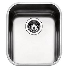 Apell Fe400ubc Sink 1 bowl cm. 36x42 - brushed stainless steel Ferrara