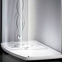 Arblu 12600 Shower tray h 6 cm. 78-85 x 150 above asymmetric floor Aqua 150