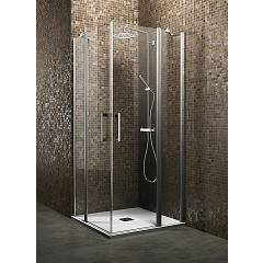 Arblu Dedalo Plus Angolo Square shower cubicle / rectangular h 200 - 2 hinged doors Dedalo