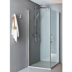 Arblu Dedalo Angolo Square shower cubicle h 200 - 1 hinged door + 1 fixed side Dedalo