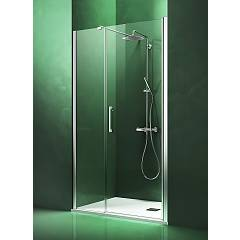 Arblu Dedalo Nicchia H 200 shower enclosure - 1 hinged door + 1 fixed side Dedalo