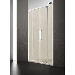 Arblu Perseo Nicchia H 200 shower enclosure - 2 central saloon doors Perseo