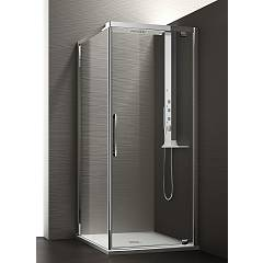 Arblu Perseo Angolo Square shower cubicle h 200 - 1 pivot door + 1 fixed side Perseo