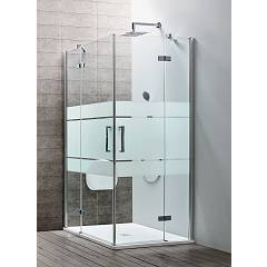Arblu Sei Angolo Square shower / rectangular h 195 - 2 hinged doors Sei