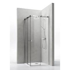 Arblu Otto Angolo Square shower / rectangular h 205 - 2 sliding doors Otto