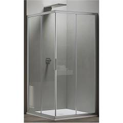 Arblu Vega Angolo Square / rectangular shower box h 195 - 2 sliding doors Vega