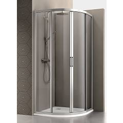 Arblu Mercurio Angolo Round shower box h 195 - 2 sliding doors Mercurio