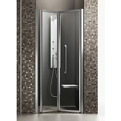 Arblu Time Nicchia Niche shower box h 190 - 1 folding door Time