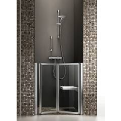Arblu Time Nicchia Niche shower cabin h 95/190 - 1 folding door Time