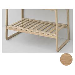 Artceram Acm020 Dogato shelf for sling frame - oak