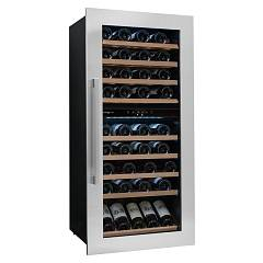 Avintage Avi81xdza The wine cantina cm. 60 h 123 - bottles 79 - stainless steel built-in column