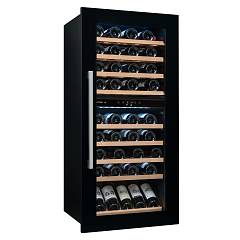 Avintage Avi82cdza The wine cantina cm. 60 h 123 - bottles 79 - black built-in column