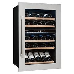 Avintage Avi47xdza The wine cantina cm. 60 h 89 - bottles 52 - stainless steel built-in column