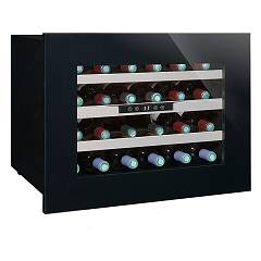 Avintage Avi24 Premium Cantina vino cm. 60 h 45 - bottiglie 24 - nero built-in column