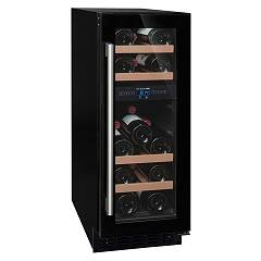 Avintage Av18cdza Wine cellar cm. 30 h 82 - bottles 17 - nero recessed undermount