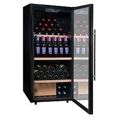 Avintage Pclv160 Wine cellar cm. 60 h 129 - bottles 160 - black free installation