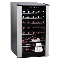Avintage Cls33a The wine cantina cm. 48 h 84 - bottle 33 - stainless steel free-standing