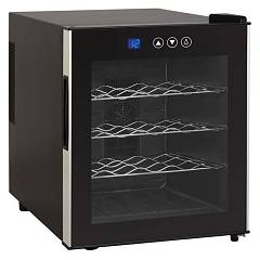 Avintage Vsv16f Wine cellar cm. 43 h 51 - bottles 16 - black free installation