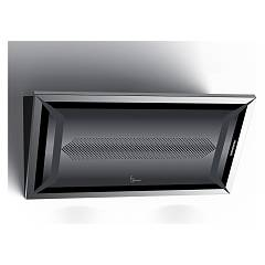 Baraldi Blacky Wall hood cm. 90 - black
