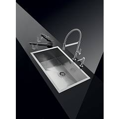 Barazza - Sink 1Q7040I, series Quadra radius 0 - set