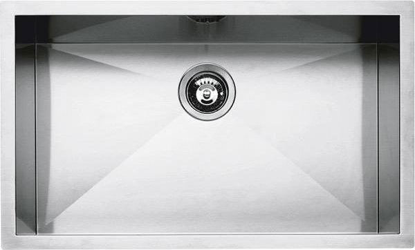 Barazza - Sink 1Q7040I, series Quadra radius 0