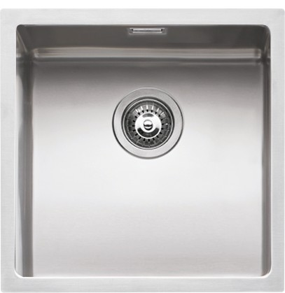 Barazza - Sink 1X4040S, series Quadra radius 15