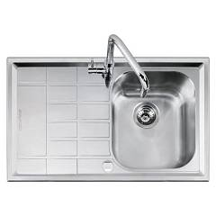 Barazza 1llv90/1s Sink inox built 86x50 1 bath dx B_level